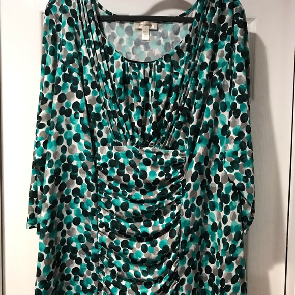 Dress Barn Tops - Dress Barn Multicolored Top